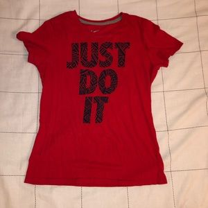 "Woman's Nike ""Just Do It"" Tee"